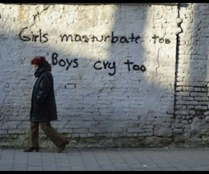 boys, girls, and cry image