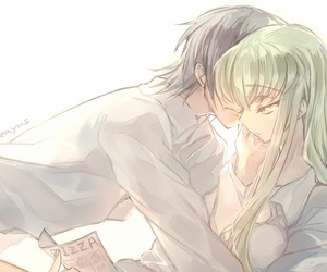 code geass, anime, and couple image