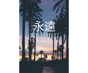 beach, languages, and japan image