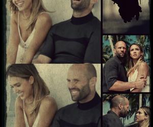 Jason Statham, jessica alba, and sibile + dayton image