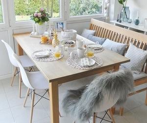 decor, kitchen, and modern image