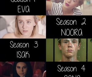 eva, season 3, and skam image