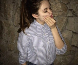 beautiful, brunette, and girls image