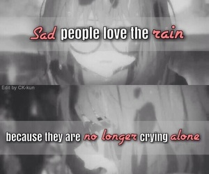 anime, kyoukai no kanata, and cry image