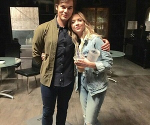 haleb, pretty little liars, and tyler blackburn image