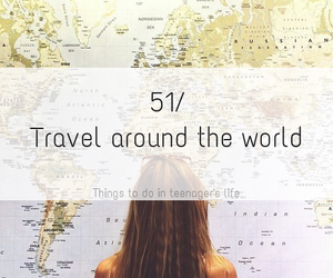 we heart it, bucket list, and travel the world image