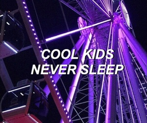 indie, neon, and purple image