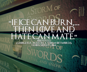 book, quote, and song of ice and fire image