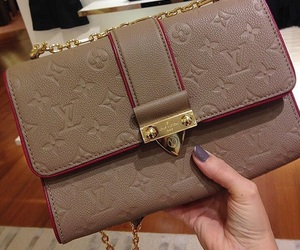 handbag, Louis Vuitton, and LV image