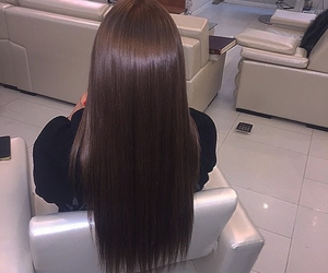brune, cheveux, and blg image