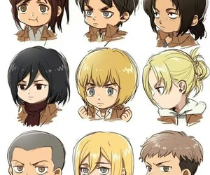 anime, annie, and jean image
