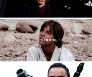 Anakin Skywalker, star wars, and force image