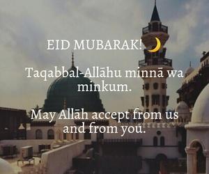 eid mubarak, Ramadan, and ummah image
