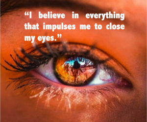 daydream, quote, and eyes image