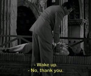wake up, quotes, and sleep image