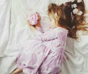 flowers, pink, and baby image