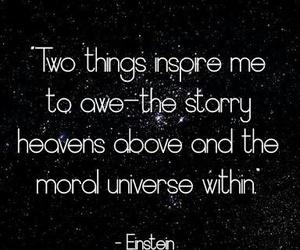 Awe, heavens, and moral image