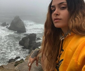 kehlani, beauty, and yellow image