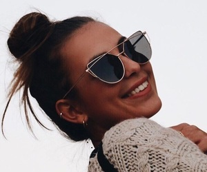 girl and sunglasses image
