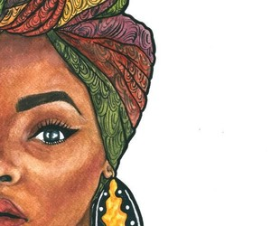 African, art, and picture image