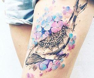 whale tattoo image