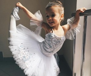 baby, ballerina, and ballet image