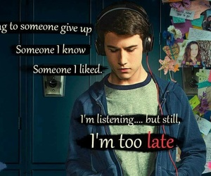 13 reasons why, netflix, and dylan minnette image