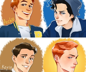 Archie, cw, and cole sprouse image