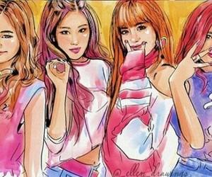 fan art, fanart, and k-pop image