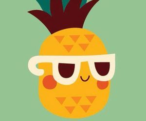 cool, draw, and fruit image