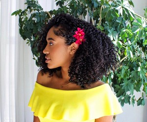 curls, curly hair, and hair accessories image
