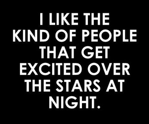 night, quotes, and stars image