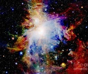 colorful, galaxy, and cosmic image