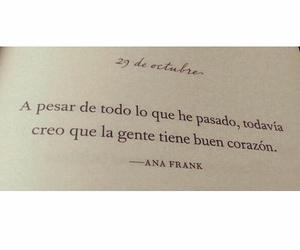 libros, ana frank, and poesía image
