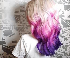 hair, fantasy, and pink image