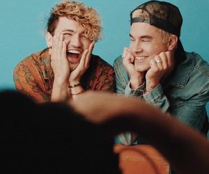 weheartit, jc, and kian lawley image