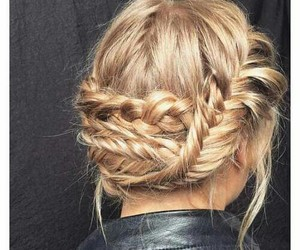 hair, girls, and hairstyle image