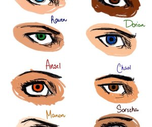 eyes, throne of glass, and chaol westfall image
