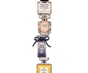 perfume bottles and ladysuzanne image