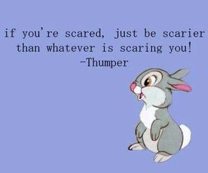 scary, quote, and cute image
