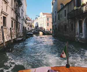 city, travel, and venice image
