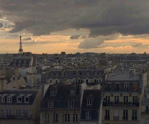 city, paris, and writer image