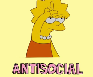 antisocial, wallpapers, and yellow image