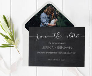 etsy, calligraphy invite, and save the date pdf image