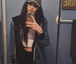 fashion, girl, and mirrorselfie image