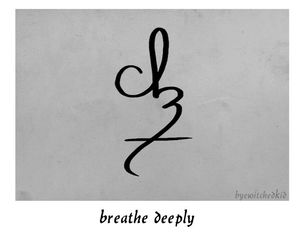breathe, survive, and deeply image