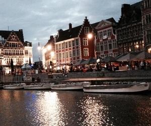 belgium, city, and evening image
