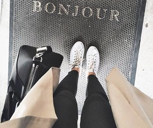 fashion, outfit, and bonjour image