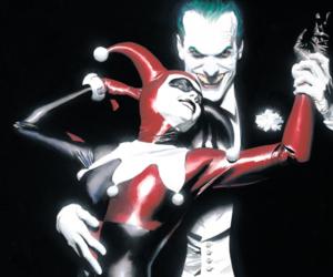 comics, DC, and harley image