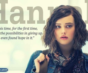 quote, 13 reasons why, and hannah baker image